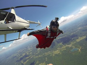 Helicopter Wingsuit