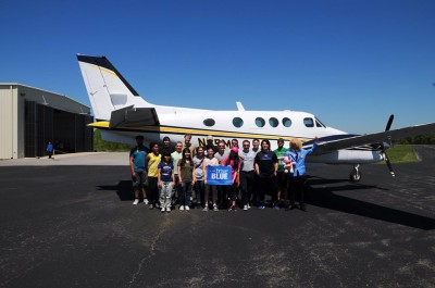 MTSU near Nashville tandem skydives 2016