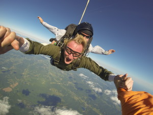 Jacob's Tandem Skydive